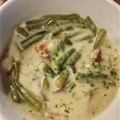 Grandma's Vintage Recipes: OLD GERMAN GREEN BEAN SOUP