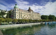 palace luzern - for tea or drinks on water