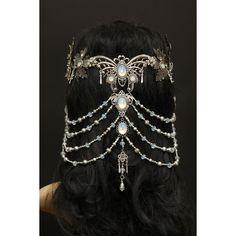 elvish *butterfly* headpiece jewelry tiara Headpieces und Accessoires by Zerrenety Head Jewelry, Body Jewelry, Silver Jewelry, Jewelry Gifts, Jewelry Hanger, Jewellery Rings, Unique Jewelry, Amber Jewelry, Jewelry Stand