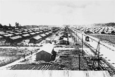 """Camp de Gurs.Upon the signing of the armistice between France and Germany in June 1940, the Vichy regime inaugurated four months after installation, an anti-Semitic state policy in indifference """"almost"""" General. Around 350,000 Jews lived in France in June 1940 out of a population of approximately 41 million French people, or less than 1%. Half of them fleeing anti-Jewish measures and pogroms, Poland, Germany and the whole of Eastern Europe, were welcomed by France."""