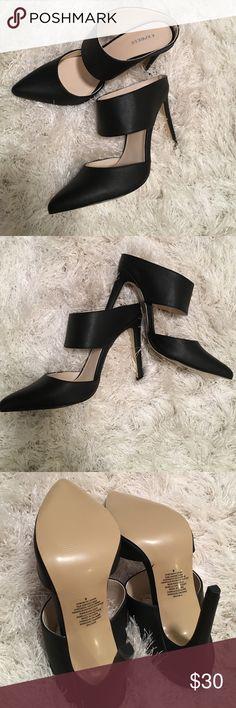 Black Heels Never Worn Size 8 black Express heels Express Shoes Heels
