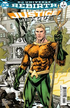 Justice League (2016) #7 (Variant)