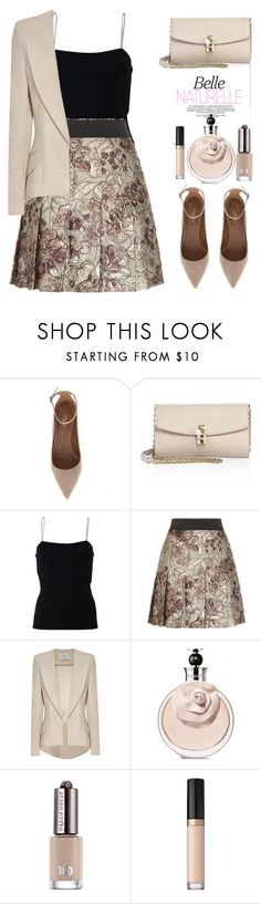 """Untitled #609"" by jovana-p-com ❤ liked on Polyvore featuring Aquazzura, Dolce&Gabbana, T By Alexander Wang, Hebe Studio, Urban Decay and Too Faced Cosmetics"