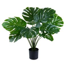 Gefälscht Topfpflanze Künstlich Ball Pflanzen Büro Zuhause Außen Innen
