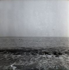 the ocean looks so nice in medium format bw.