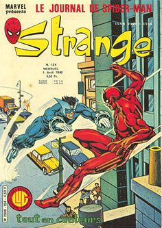 Couverture de Strange -124 - Strange 124