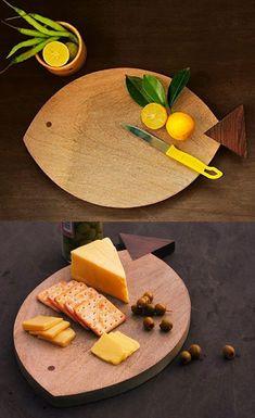 Tablas para cortar en madera únicas que hacen de su cocina divertida - Forestal Maderero