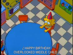 middle child syndrome | it's lovely when your whole family forgets your birthday