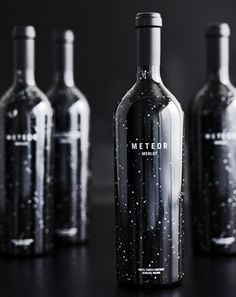 I love cool wine bottles, but I hate wine! I would love to have these somewhere just to look at :]
