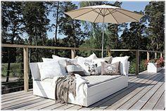 Solsäng Sunbed Outdoor Balcony, Outdoor Life, Outdoor Rooms, Outdoor Gardens, Outdoor Chairs, Outdoor Living, Building Furniture, Deck Furniture, Outside Room
