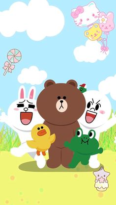Line and her Friends