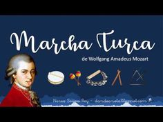 Marcha Turca - W. A. Mozart (Acompañamiento PAI) - YouTube Music Lessons For Kids, Music Lesson Plans, Music For Kids, Kids Songs, Amadeus Mozart, Music Writing, Music Worksheets, Music Composers, Music Activities