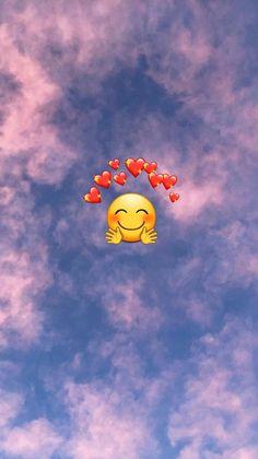 Wallpaper I used an app to create this Emoji Wallpaper Iphone, Cute Emoji Wallpaper, Cute Wallpaper Backgrounds, Pretty Wallpapers, Disney Wallpaper, Wallpaper Samsung, Bad Girl Wallpaper, Normal Wallpaper, Mood Wallpaper