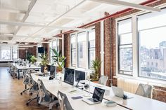 Herman Miller refurnished the label's New York City HQ, decking out its conference rooms and open-plan work areas with some iconic pieces. Look inside here.