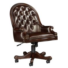 Casa D'Onore - Executive Desk Chair - 443-15-75 - Home Office - Stanley Furniture