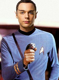 Sheldon as Spock