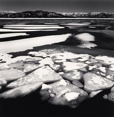 Michael Kenna: Kussharo Lake, Study 9, Hokkaido, Japan. 2014 #blackandwhitepeoplephotography