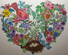 ColorIt Blissful Scenes Adult Coloring Book Colorist: Melissa Wright #adultcoloring #coloringforadults #adultcoloringpages #blissfulscenes