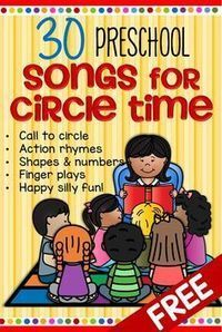 Songs and rhymes for circle time for preschool Pre-K and Kindergarten. Songs and rhymes for circle time for preschool Pre-K and Kindergarten.,kids activities Here is a collection of the words for some songs and. Kindergarten Songs, Preschool Songs, Preschool Learning Activities, Preschool Lessons, Toddler Learning, Songs For Preschoolers, Movement Songs For Preschool, Kindergarten Circle Time, Learning Activities For Toddlers