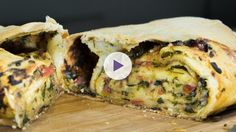 Watch Learn How to Make This Epic Lasagne Bread (Scaccia)