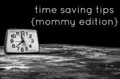 time saving tips {mo