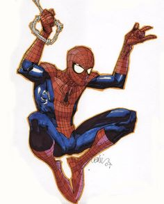 Spider-Man by Leinil Francis Yu ✤ || CHARACTER DESIGN REFERENCES | キャラクターデザイン |  • Find more at https://www.facebook.com/CharacterDesignReferences  http://www.pinterest.com/characterdesigh and learn how to draw: concept art, bandes dessinées, dessin animé, çizgi film #animation #banda #desenhada #toons #manga #BD #historieta #strip #settei #fumetti #anime #cartoni #animati #comics #cartoon from the art of Disney, Pixar, Studio Ghibli and more || ✤