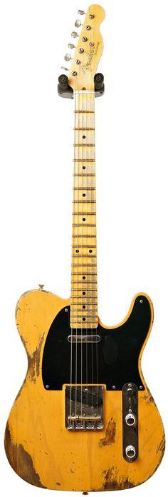 Fender Custom Shop 52 Telecaster Heavy Relic Butterscotch Blonde 65C Neck #R16572