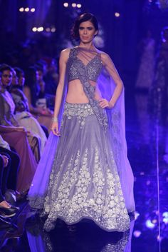 Manish Malhotra- the lilac color brings joy to my eyes