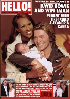 How Iman and David Bowie conceived Lexi with the help of Christie ...