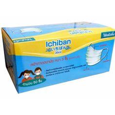 เก็บเงินปลายทาง  SEKURE Ichiban หน้ากากอนามัย หนา 3 ชั้น ชนิดยางยืด สีเขียวอ่อน (50ชิ้น /กล่อง  ราคาเพียง  99 บาท  เท่านั้น คุณสมบัติ มีดังนี้ หน้ากากอนามัย อิชิบัง (Ichiban) หนา 3 ชั้น ป้องกันแบคทีเรีย ฝุ่นละออง หมอกควัน เข้าสู่ร่างกายได้ถึง 98%&