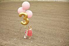 Birthday photo-shoot idea