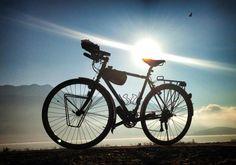 Classic touring bike Reggie Ridgeback @ReggieTheBike  @Andrew Mager Mager Mager Mager P.