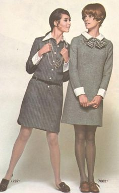 1969 Simplicity Patterns with Colleen Corby and Lucy Angle