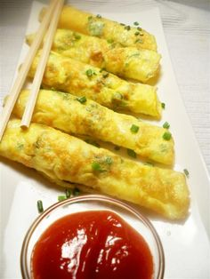 mini egg roll ups