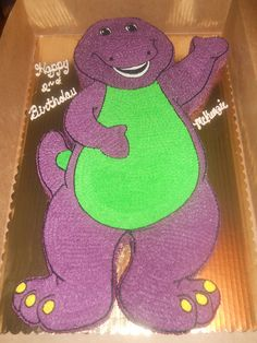 barney birthday cakes - Google Search
