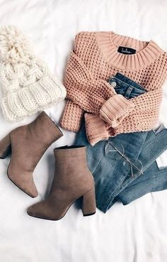 winter outfits ropa invierno 45 Cozy and Cute Wint - winteroutfits Winter Outfits For Teen Girls, Casual Winter Outfits, Trendy Outfits, Trendy Fashion, Fall Outfits, Winter Fashion, Womens Fashion, Fashion Trends, Bohemian Fashion