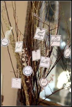 I love this Thanksgiving Tree. Easy to make and display all you are thankful for.