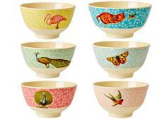 fraaie 'Poetry' bowl uit melamine Rice | kinderen-shop Kleine Zebra