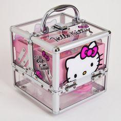 Hello Kitty Make Up Train Case - Hello Kitty & Disney Princess Beauty Sets - Events