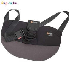 The BeSafe Pregnant guides away the hip belt from the stomach and the fetus. The BeSafe Pregnant may be used from as early as the second month of pregnancy. Black Belt, Black And Grey, Extended Rear Facing, Baby Mirror, Pregnancy Months, Kids Seating, How To Slim Down, Baby Car Seats, Gym Bag