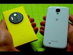 Nokia Lumia 1020 vs Samsung Galaxy S 4........ Lumia 1020  WIN!!