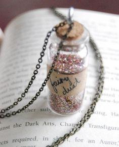 fairy dust in a jar
