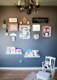 Ellery's Room... Love the Gallery Wall