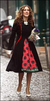 I love Carrie Bradshaw...her style was over the top but you can't help but love it!