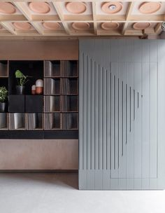 Wood paneling details - Porcelain Gallery Project in Central London by Simon Astridge Architecture Workshop Commercial Interior Design, Commercial Interiors, Shop Interiors, Office Interiors, Home Interior, Interior Architecture, Architecture Today, London Architecture, Interior Paint