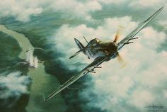 """B17 NINE-O-NINE - Steve HeyenB17G-30-BO of the 323rd Bomb Squadron, 91st Bomb Group encounters home defense Me109s over Germany in 1944. CLASH OF EAGLES - Roy GrinnellOn the morning of May 25, 1944, three pilots from the 4th Fighter Group, the """"Debden Eagles"""", 336th Fighter Squadron, 8th Air Force, were over Germany looking for trouble.…"""