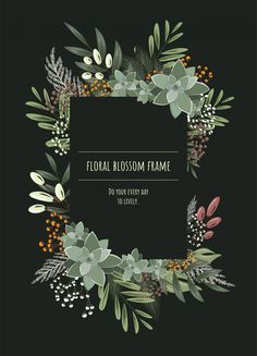 Floral Frame For Invitation Cards And Graphics. Flower Background Wallpaper, Frame Background, Flower Backgrounds, Invitation Design, Invitation Cards, Wedding Invitations, Graphic Design Flyer, Graphic Design Inspiration, Printable Images