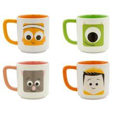 Disney store Disney pixar mugs