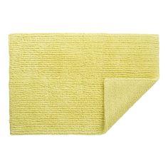 Crate & Barrel - Yellow Bath Rug