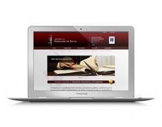 Notaria Fernando de Salas • Mollet. Web Corporativa | Polang DESIGN
